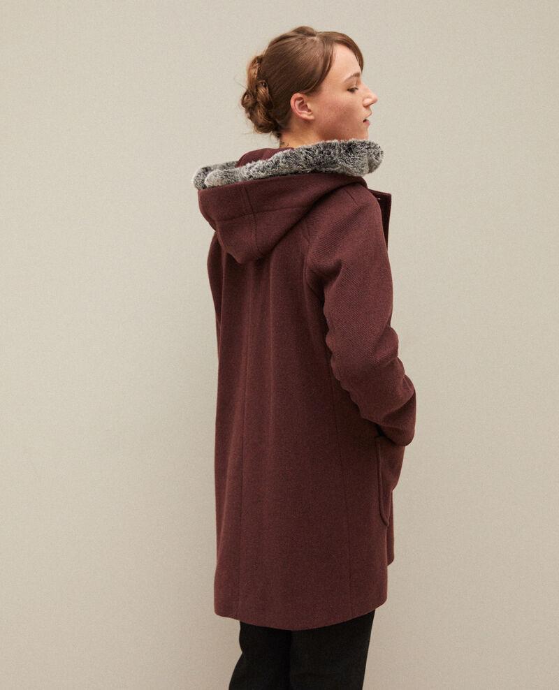 Manteau à capuche Decadente chocolate Gustin