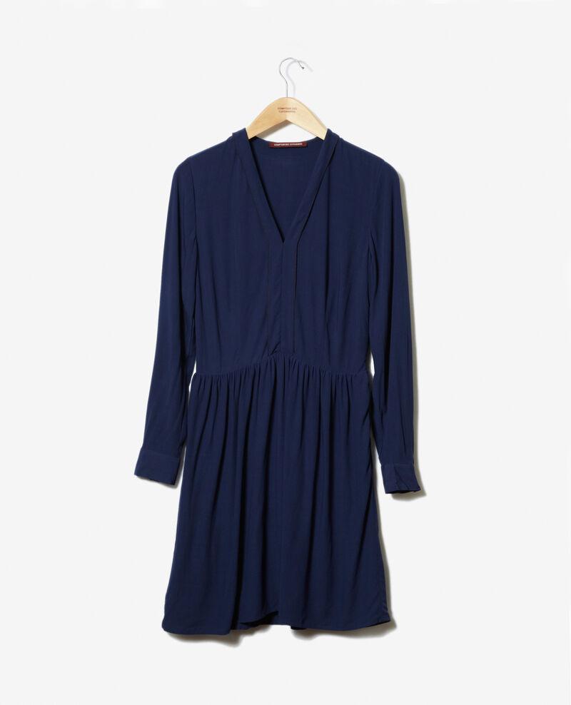 Robe décolleté V Medieval blue 9ganael