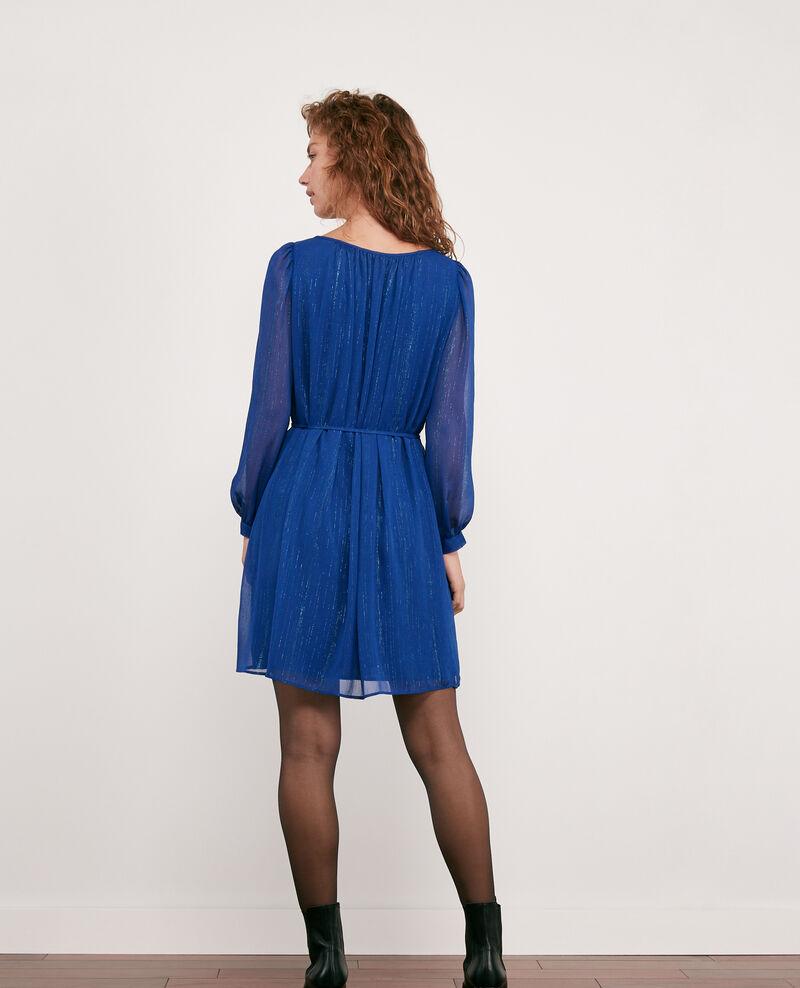Robe avec détails de lurex Sapphire Dolly