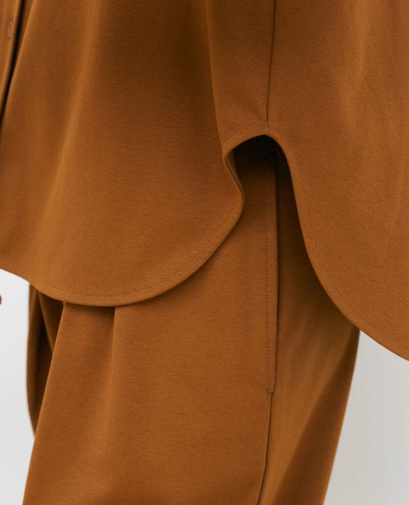 Chemise col mao Monks robe Piblange
