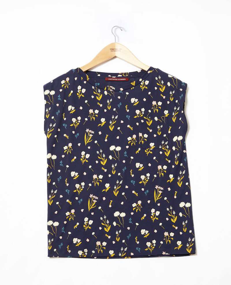 T-shirt en coton Sm peacoat Ginolita