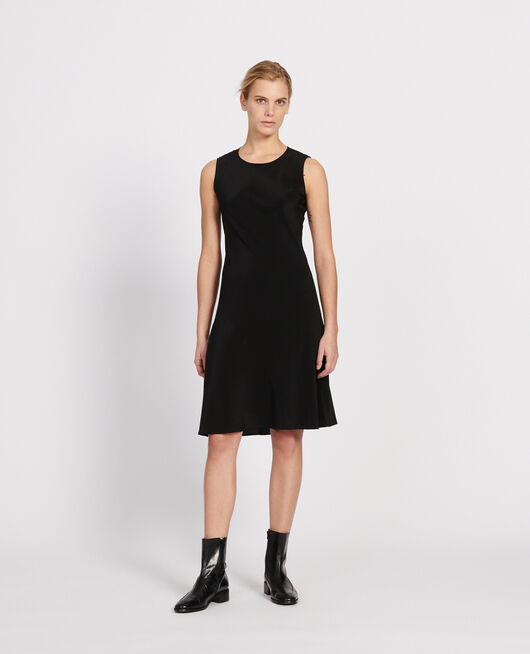 Robe en soie BLACK BEAUTY