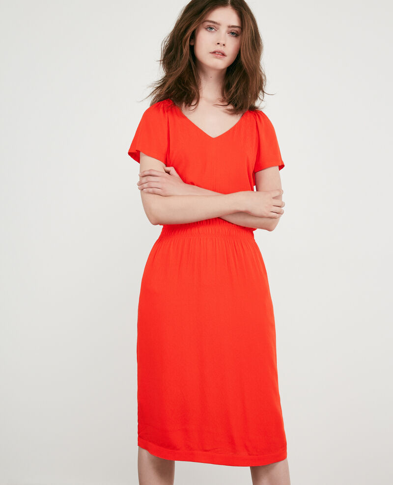 Robe fluide Orange red Decembre