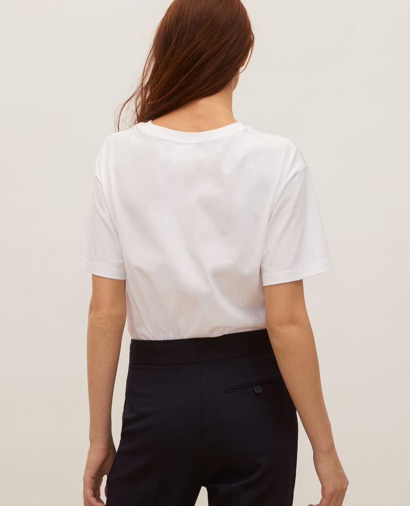 T-shirt en coton manches courtes ample Forget me not Masny