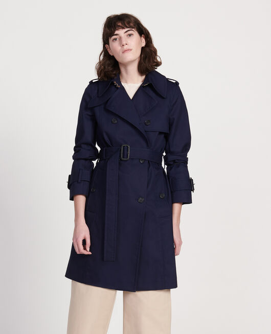 Trench new iconic MARITIME BLUE