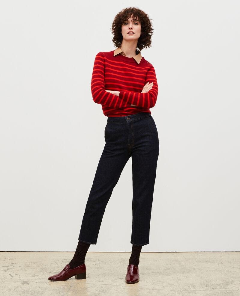 MADDY - Pull marin en laine Str_ryr_fyr Liselle
