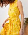 Robe imprimée en coton Primula sy Icranelle