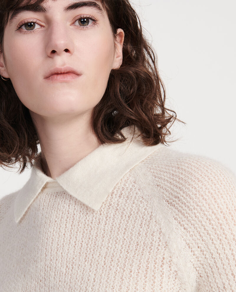 Cardigan pure laine Buttercream Louisa