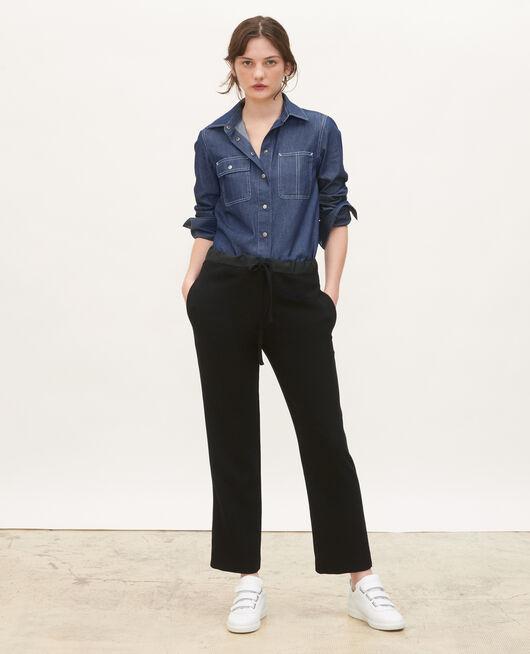 Chemise en jean à poches asymétriques DENIM BRUT