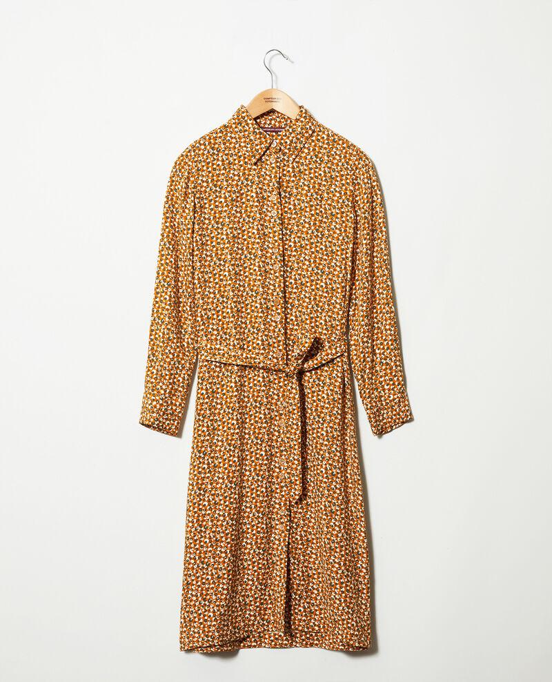 Robe imprimée Leopard thai curry Joleil