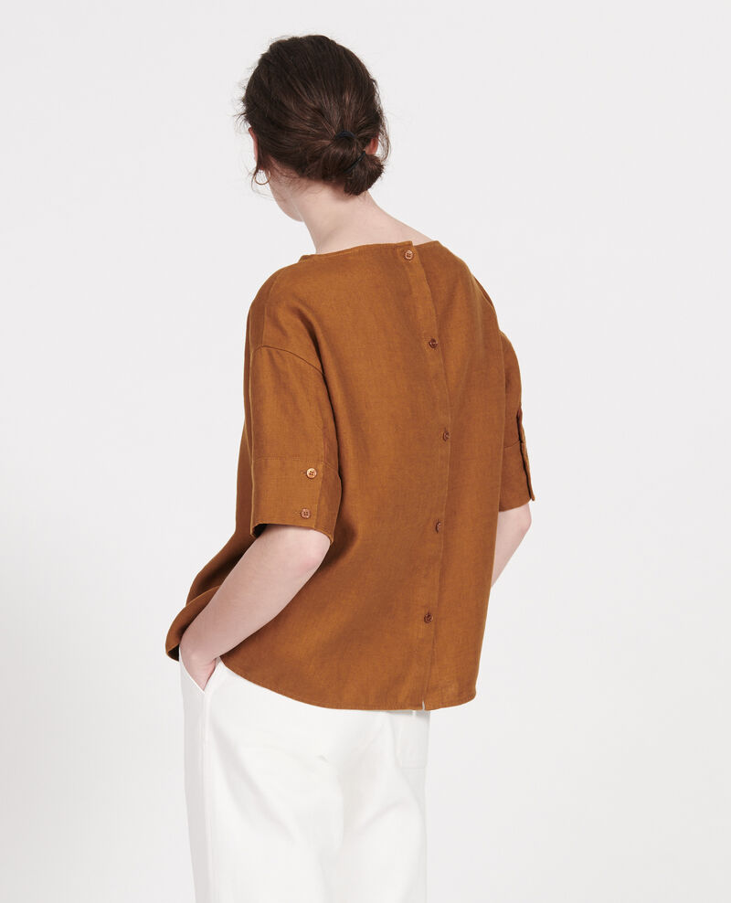 Blouse en lin Monks robe Lordat