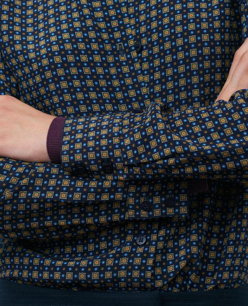 Chemise imprimée Cravate green Nabilie