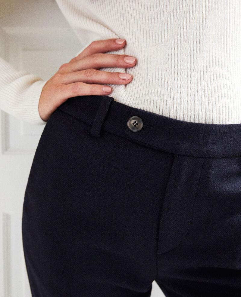 Pantalon de tailleur  Dark navy Jokya