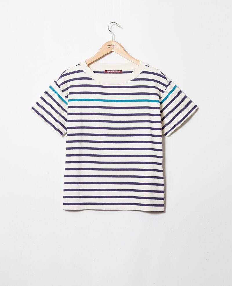 T-shirt marinière Ow/navy/turquo Ipanka