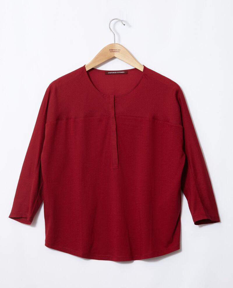T-shirt bi-matière Rio red Genious