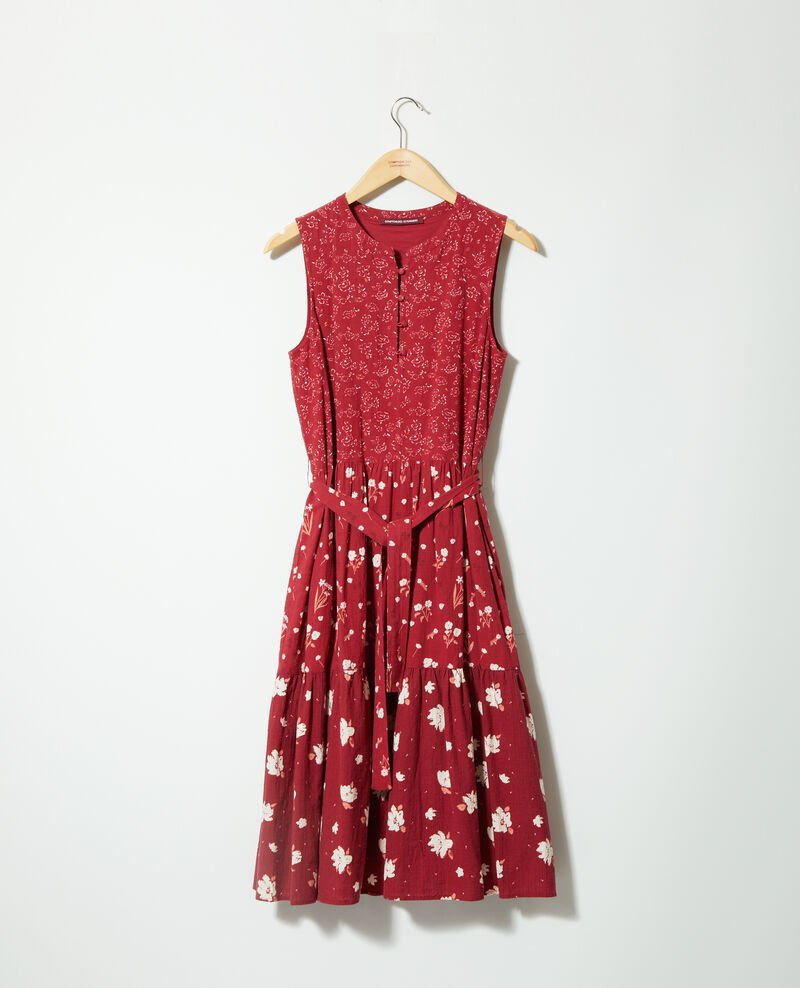 Robe imprimée Anthemis bloom rio red Garry