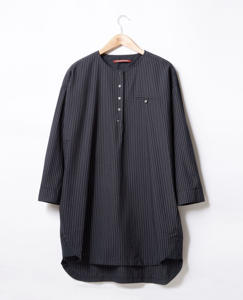 Robe rayée Navy/off white stripes Facette