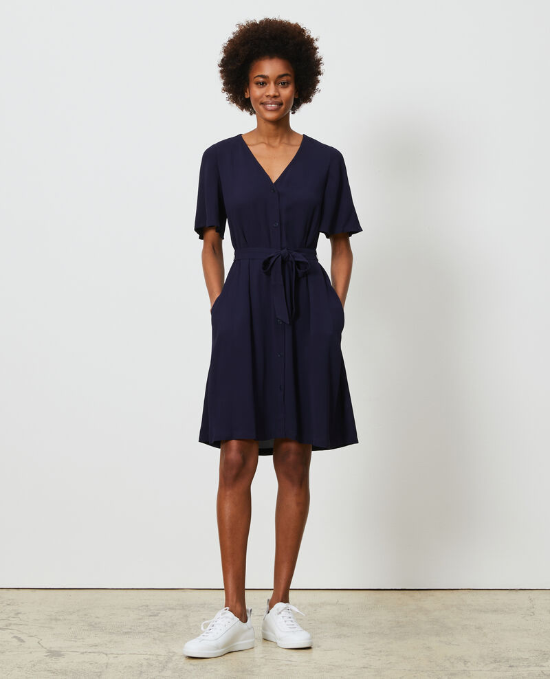 Robe courte Maritime blue Lavishort