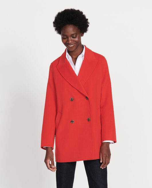 Manteau court FIERY RED