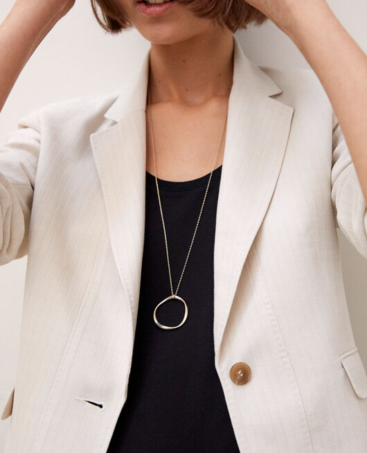 Collier long GOLD
