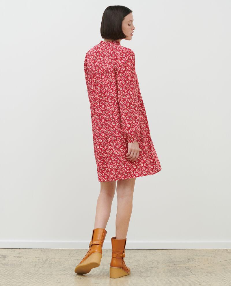 AGLAÉ - Robe courte imprimée Indienne red Palneca