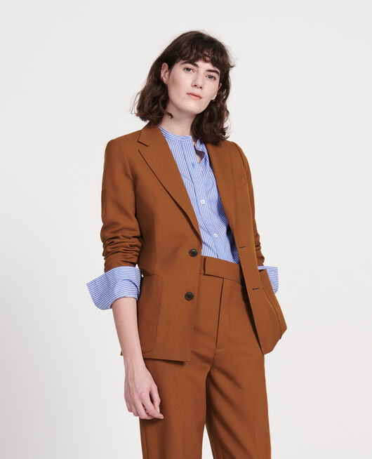 Blazer en laine sèche MONKS ROBE