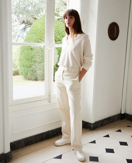 Pantalon en velours côtelé OFF WHITE