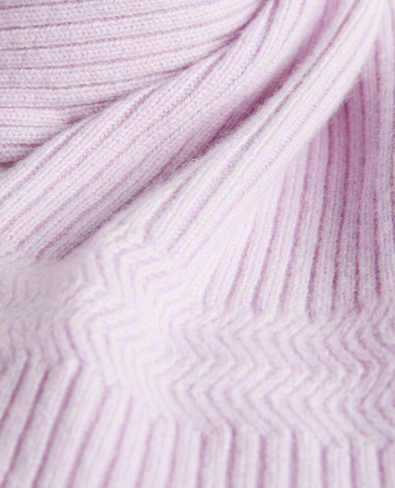Écharpe en cachemire Pastel lilac Miosa