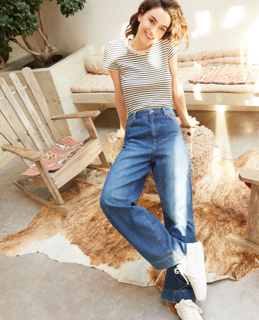 Jeans Wide full length VINTAGE WASH