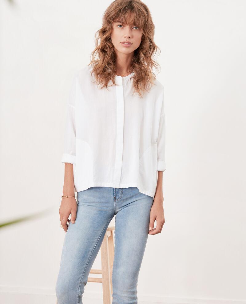 Blouse ample Blanc Ferrier