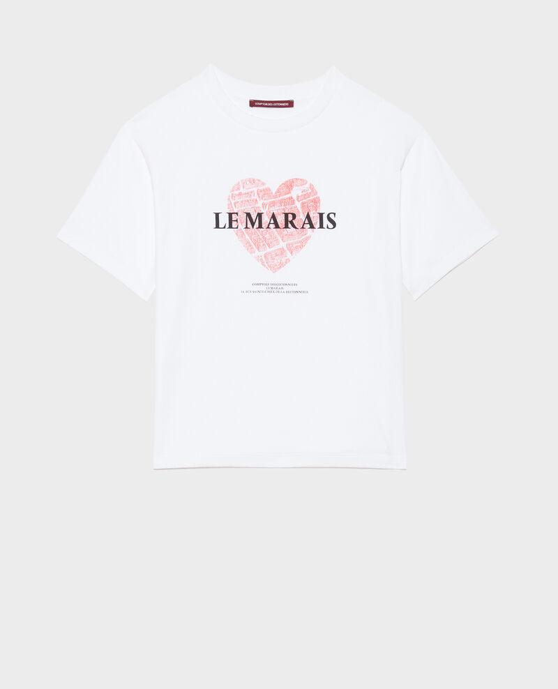T-shirt en coton manches courtes Valiant poppy Mia