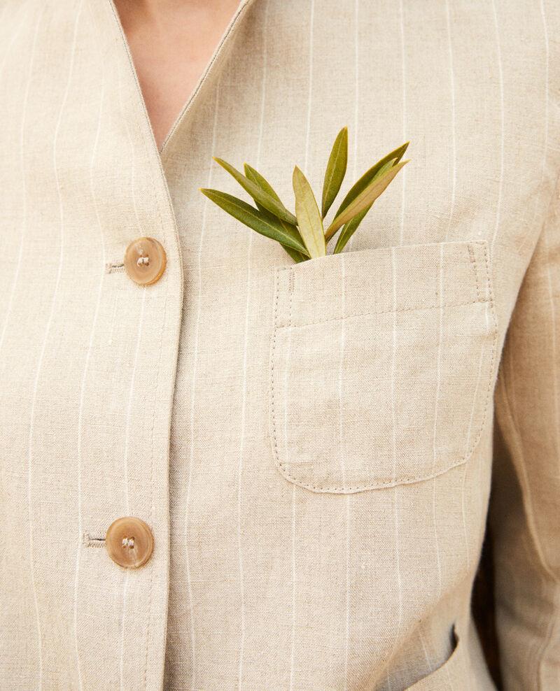 Veste de costume Natural linen/off white Imarus