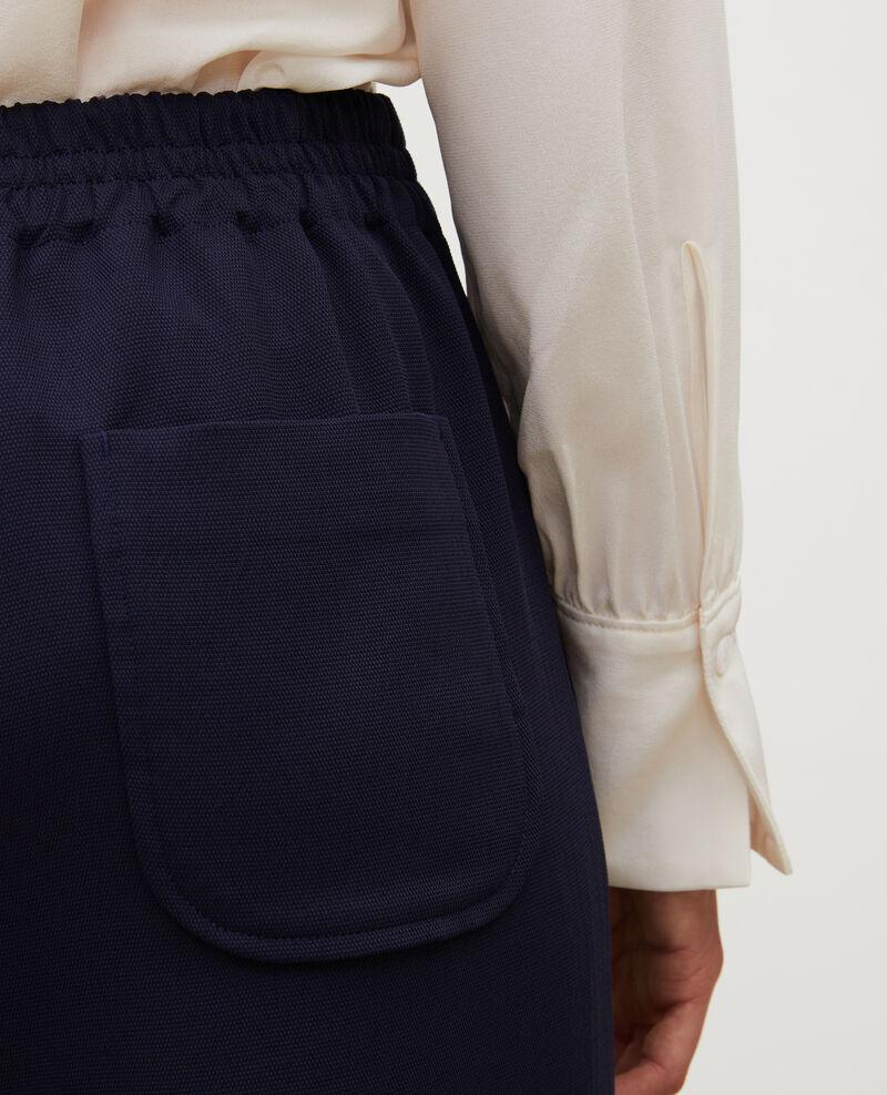 Pantalon fluide élastiqué Maritime blue Luant