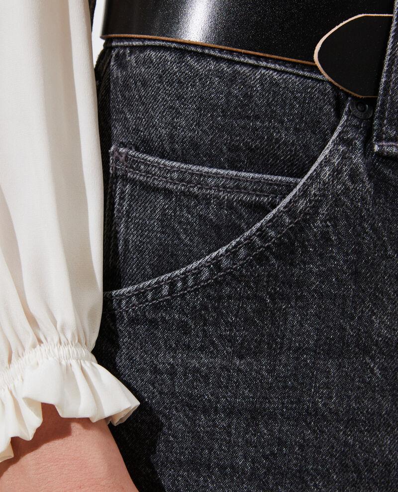 RITA - SLOUCHY - Jean ample taille descendue Vintage grey Perokey
