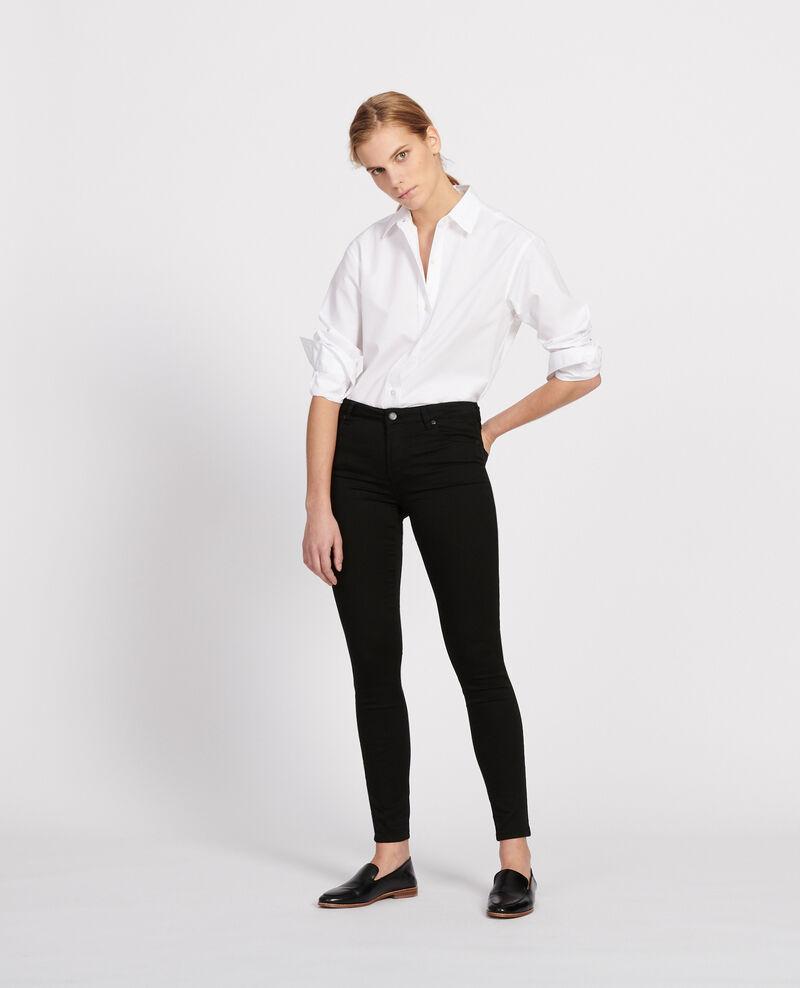 Jean coupe skinny Noir Jani