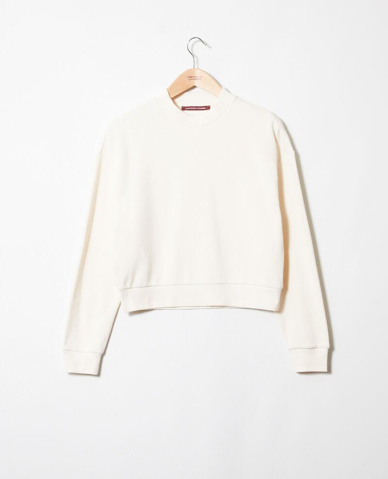 Sweatshirt court Buttercream Jizela