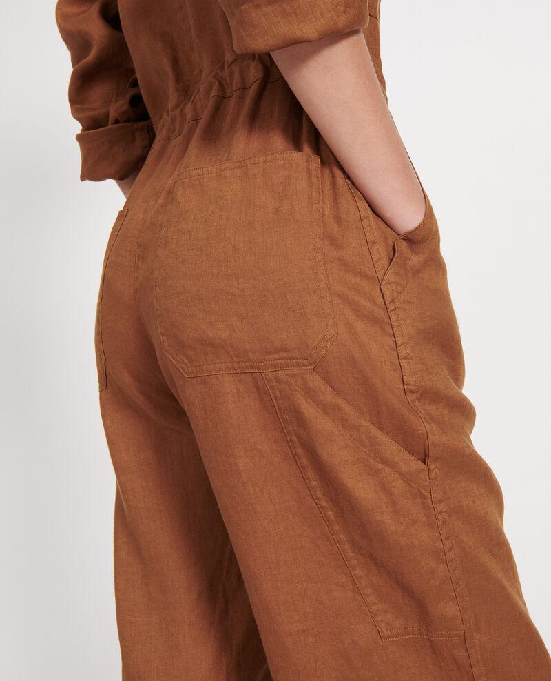 Combinaison pantalon en lin Monks robe Lachassain