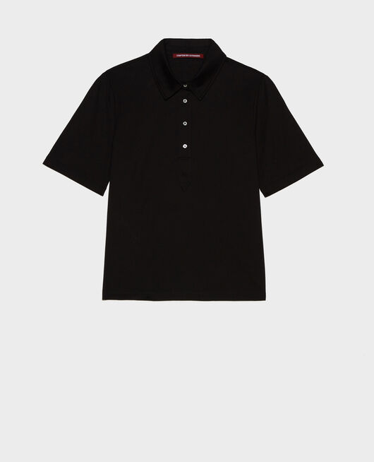 Polo en coton BLACK BEAUTY