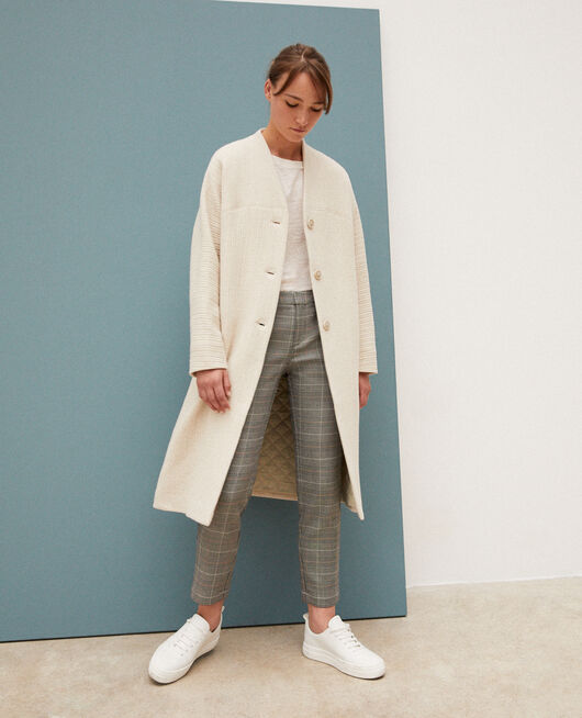 Manteau ample OFF WHITE