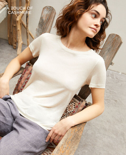 T-shirt intemporel NATURAL BEIGE