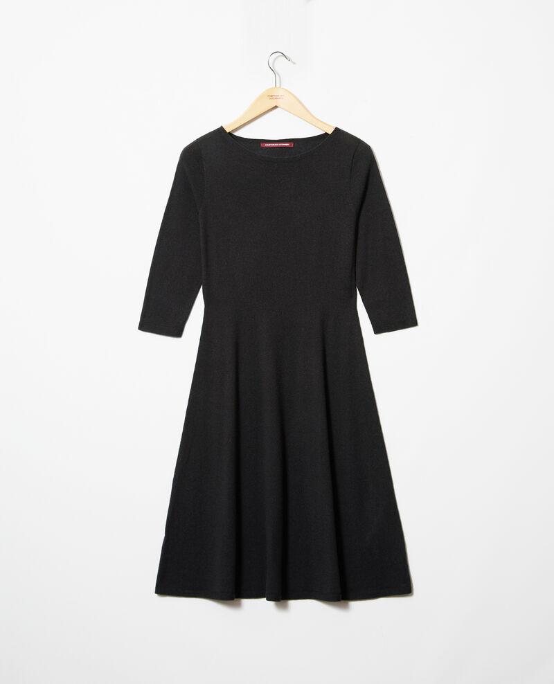 Robe en laine Noir Irika