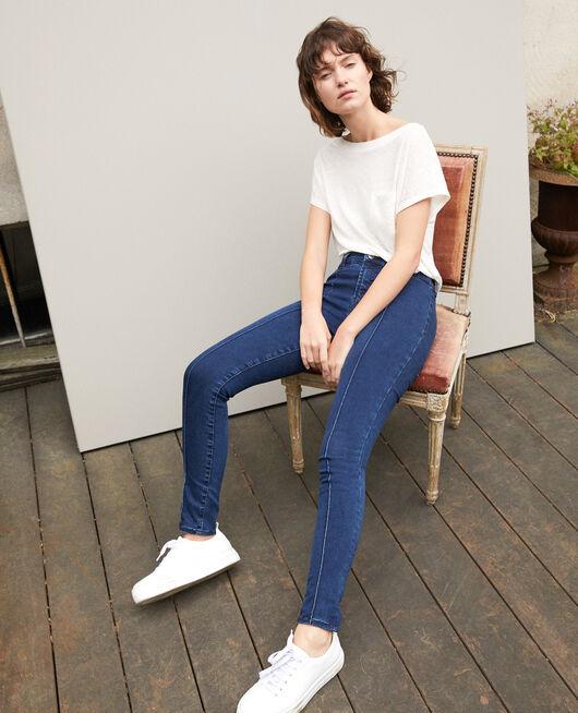 Jean skinny cropped 7/8 INDIGO