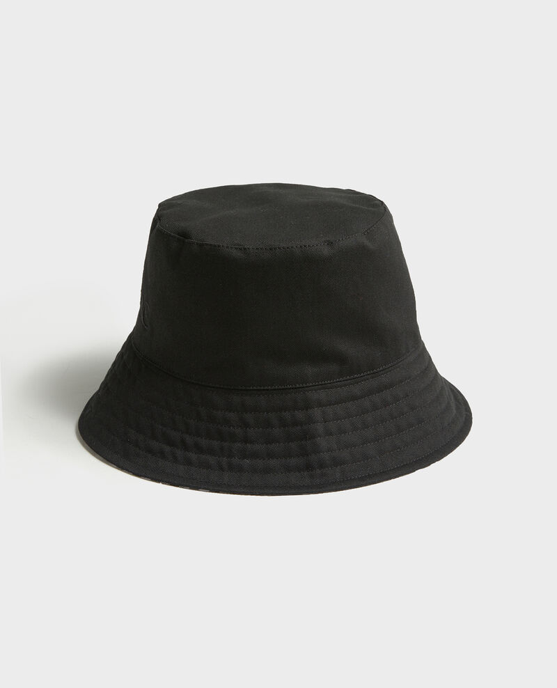Bob à larges bords Black vichy black Looker