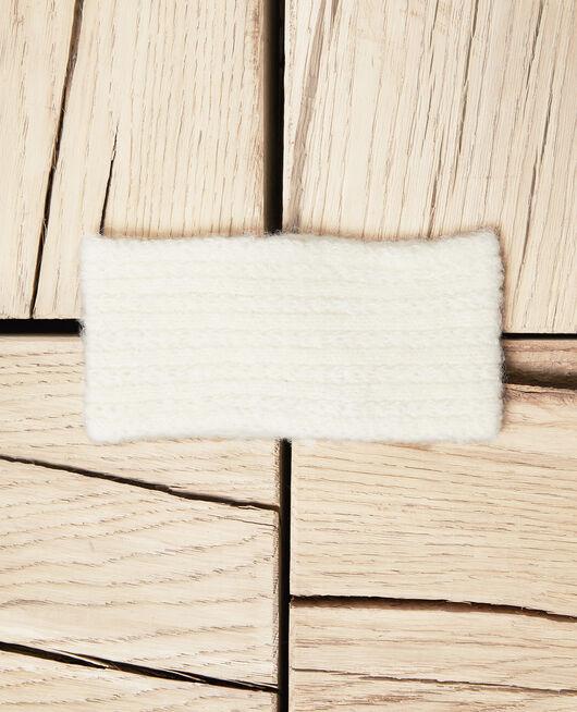 Headband en maille OFF WHITE