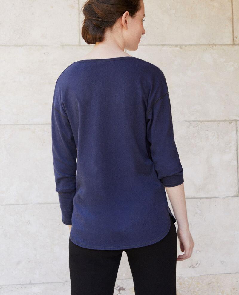T-shirt en coton Peacoat Gonia