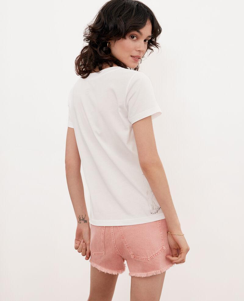 T-shirt Léon Off white Flynn