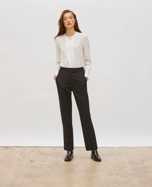 Pantalon droit en laine masculin BLACK BEAUTY