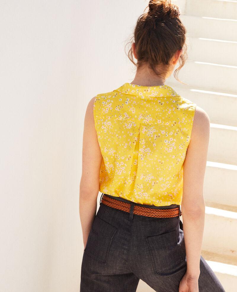 Chemise sans manches en coton Primula sy Imula