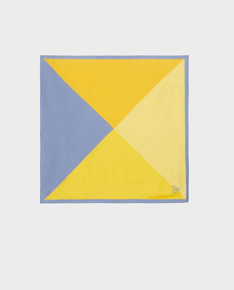 Foulard carré de soie Infinity Nassana