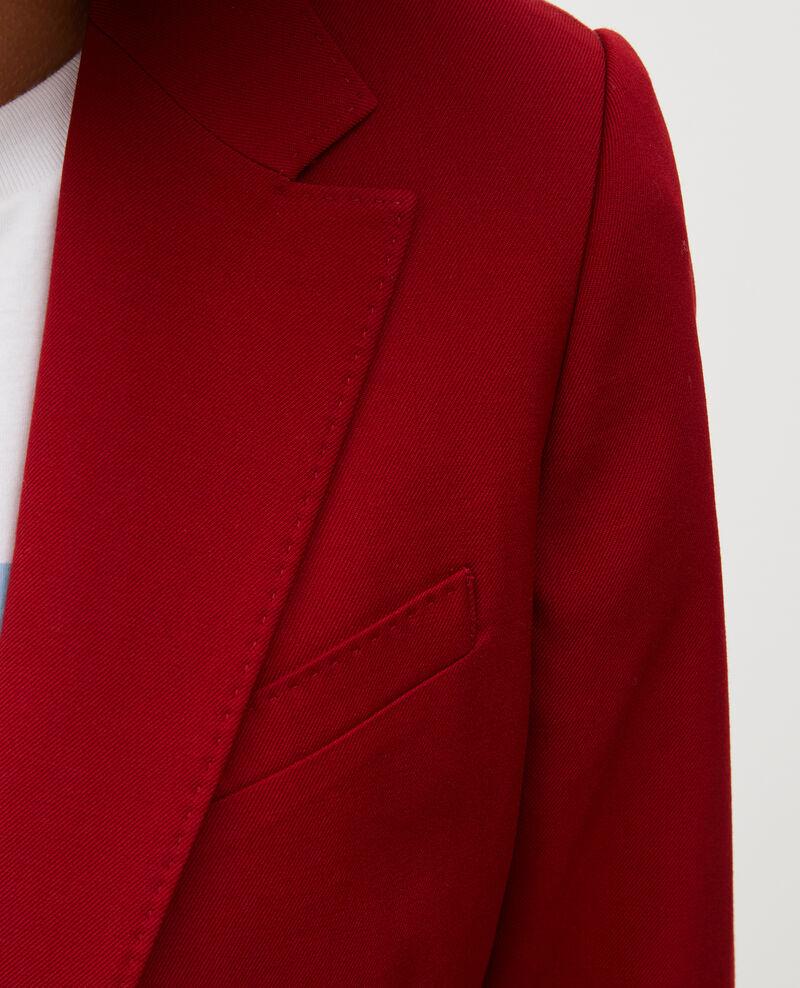 Blazer en laine masculin cintré Royale red Mesanger